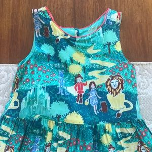 Oshkosh Wizard of Oz Dress with Heart Cut Out